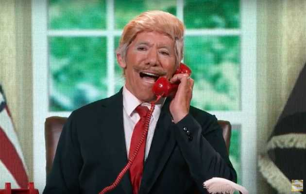 Geraldo Rivera Spoofs Trump in Ridiculous 'DWTS' Performance
