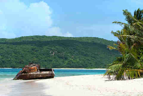 Flamenco Beach in puerto rico
