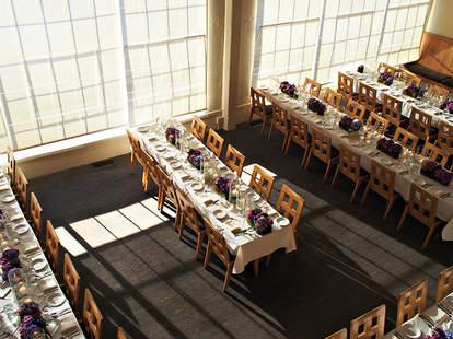 Interior of Dining Room at Greens Restaurant