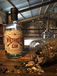 Waterloo Gin, Waterlook Gin and granola