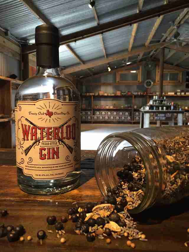 Waterloo Gin, Waterlook Gin and granola