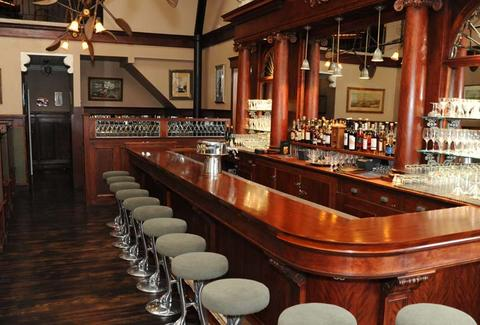 Bar at Comstock Saloon