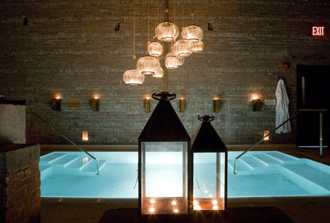 Aire Ancient Baths, New York Spa pool
