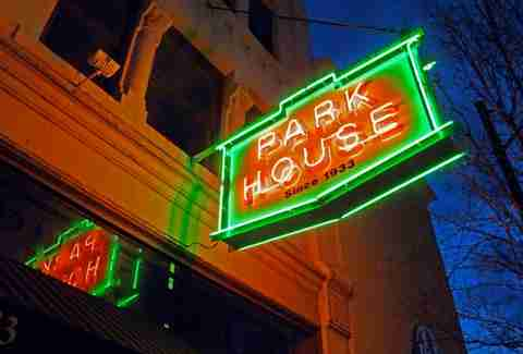 park house pittsburgh neon sign