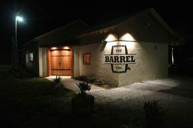 exterior of The Barrel in Charleston