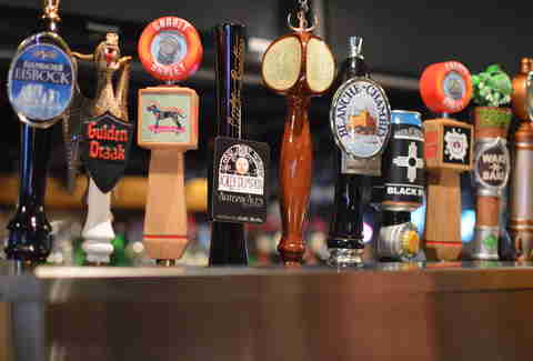 cooter browns new orleans beer taps