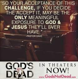 God's Not Dead Challenge