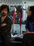 Peter Dinklage and Cecily Strong in SNL Teaser