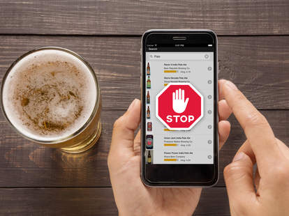 beer ranking on smart phone