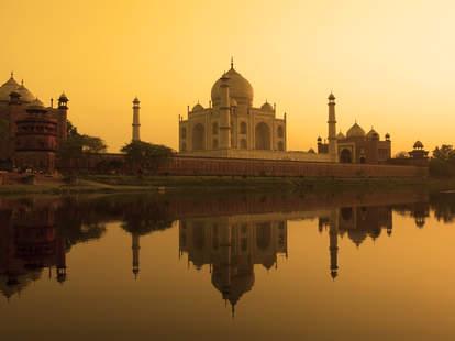 taj mahal sunset india tourist free spots to visit