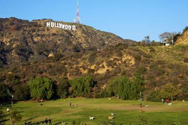 hollywood sign california los angeles