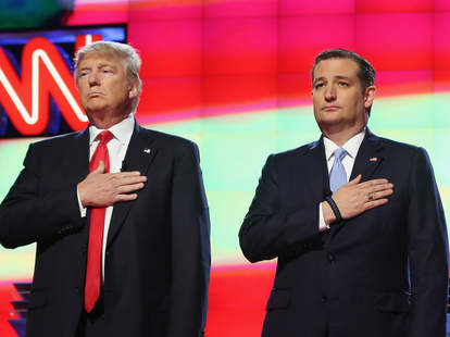 donald trump and ted cruz republican debate