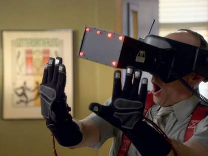 Dean from Community in VR