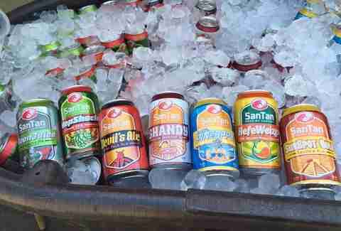 santan brewing company cans