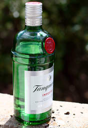 Tanqueray Gin, imported gin