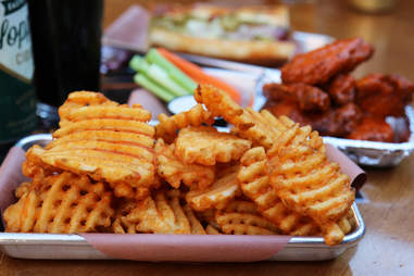 Jackalope waffle fries