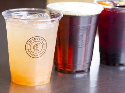Chipotle drinks