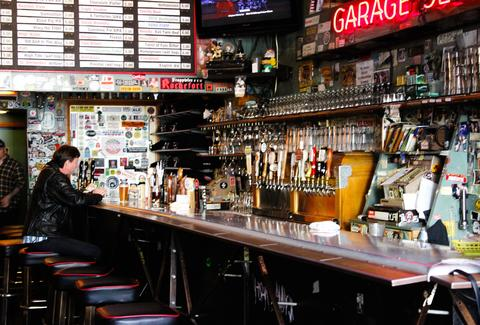 Interior of Bar at Toronado
