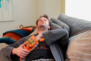 cheetos while high