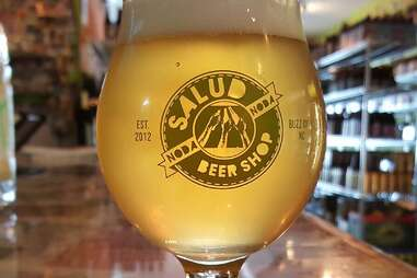 beer at Salud Beer Shop