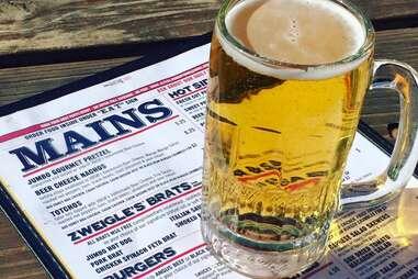 VBGB beer and menu