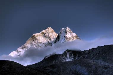 Ama Dablam mountain in Nepal