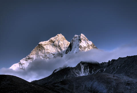 Ama Dablam mountain in Nepal