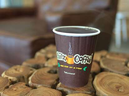 Cup of Coffee at Philz Coffee