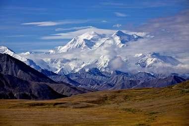 Denali Mount McKinley in  Alaska