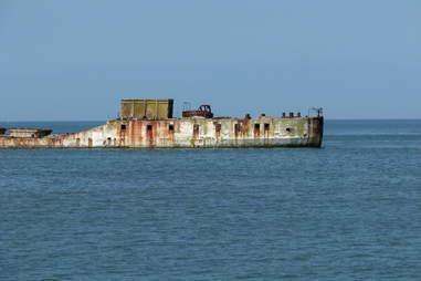 Kiptopeke Concrete Ships