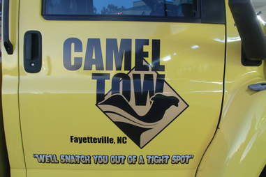 camel tow towing truck