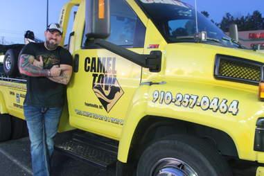 camel tow truck fayetteville
