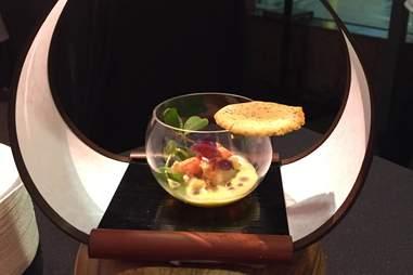 bowl of sushi at n/naka