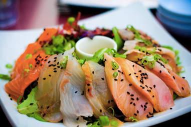Sashimi at Hamah Sushi
