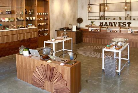 Inside Harvest Shop