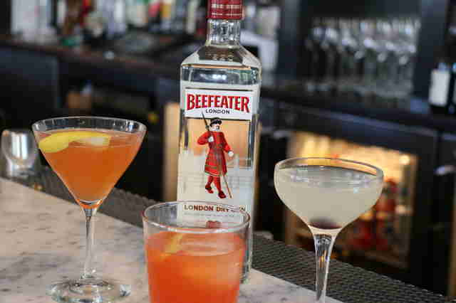 Beefeater Gin, Gin cocktails