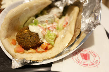 Falafel from halal guys