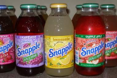 snapple iced tea bottles