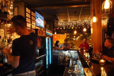 Jukebox beer bar