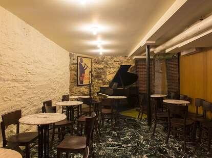 piano at Mezzrow Jazz Club