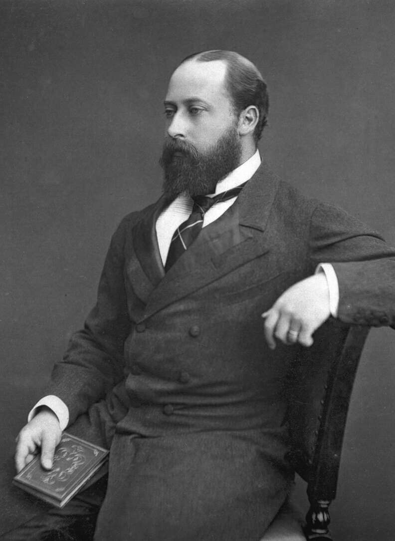 prince edward of wales archival image