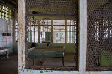 Old Alcatraz laundry room
