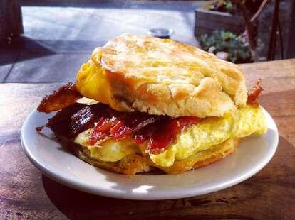 Breakfast Sandwich at Devil's Teeth Baking Company