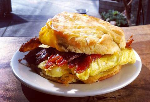 Breakfast Sandwich at Devil's Teeth Baking Company