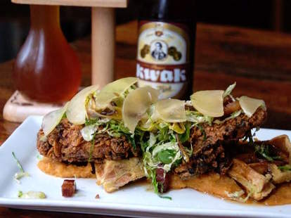 Hopleaf  Belgian Fried Chicken Night chicago thrillist