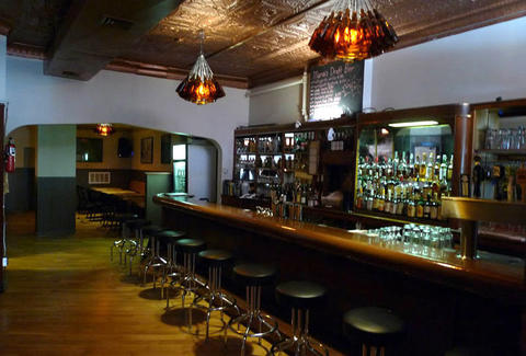 Maria's Packaged Goods & Community Bar back room chicago thrillist