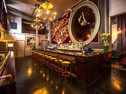 Interior of Bar at Monarch
