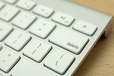 delete key keyboard computer
