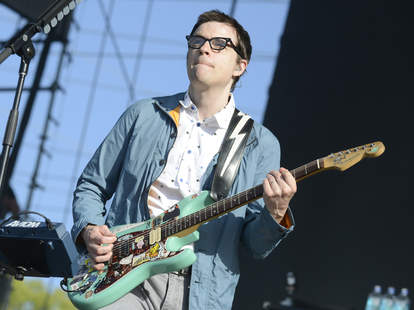 Weezer, Rivers Cuomo, Guitar, Live