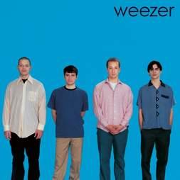 Weezer, Blue Album, Cover